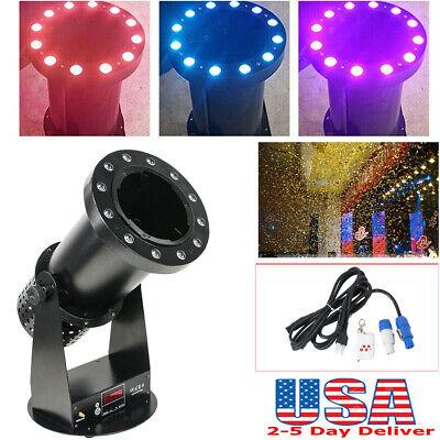 Party Light Machine (Confetti Launcher Cannon Machine DMX512 Wireless 1200W LED DJ Party Light)