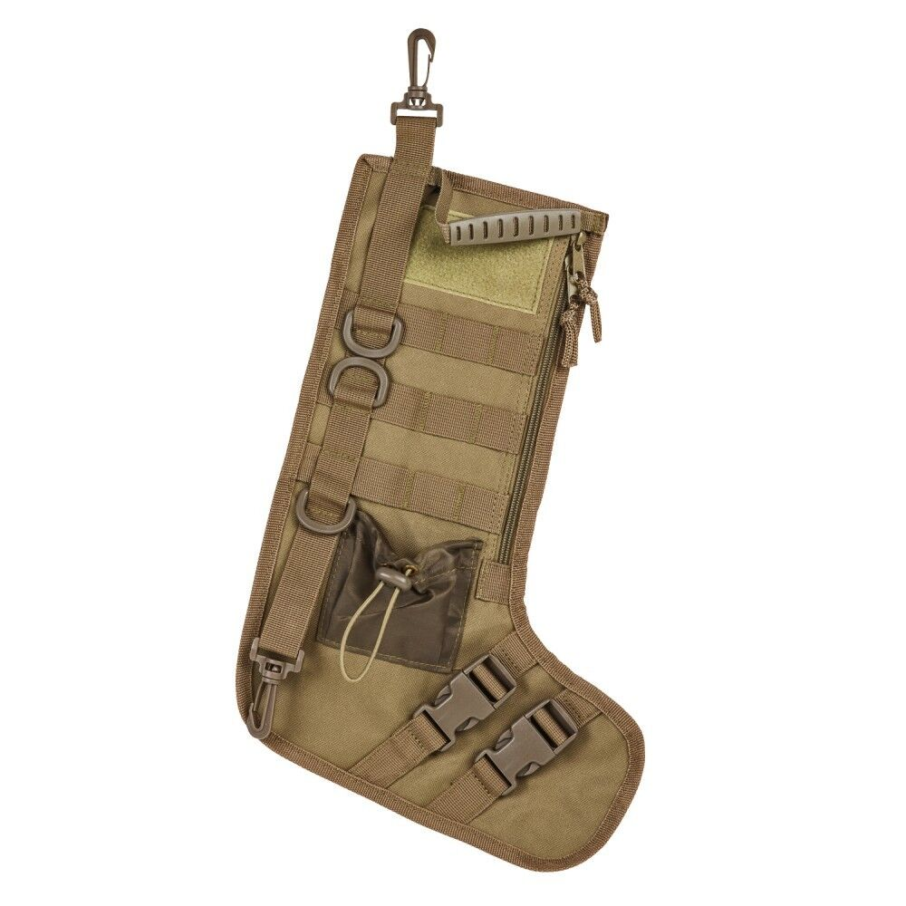 Tactical Christmas Stocking.Details About Vism Cnstkg2986t Tan Tactical Xmas Christmas Stocking 15 X 10 5 W Handle