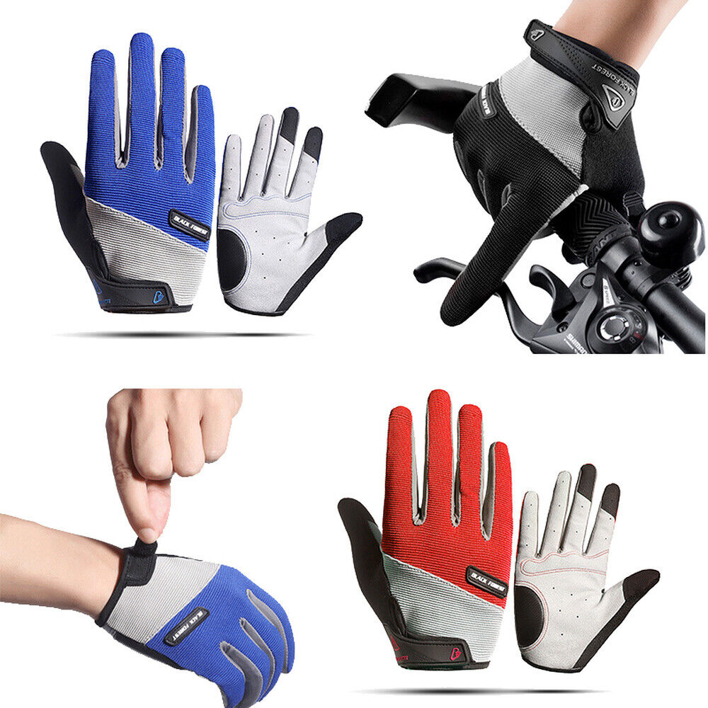 Summer Cycling Gloves Phone Touch Mens Womens Windproof Motorcycles Full Finger Cycling