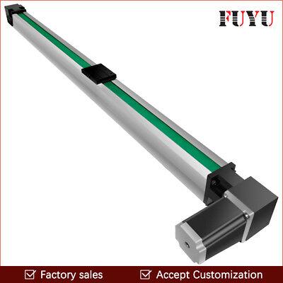 Fuyu Linear Motion Guide Cnc Belt Drive Rail Slide Stage Actuator Nema 34 Motor