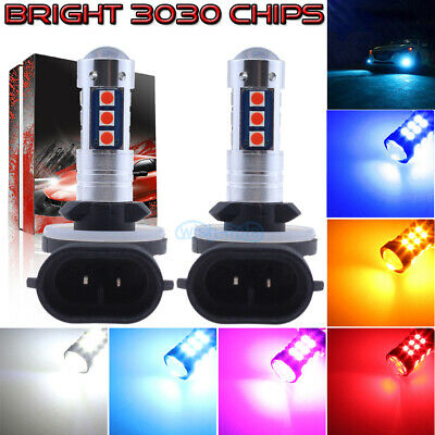 NEW 2x 3030 30SMD LED Bulbs Kit Fog Light Super Bright HID Xenon White 9005