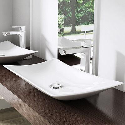 Design Keramik Waschschale Aufsatz Waschbecken Waschtisch Waschplatz Brüssel891