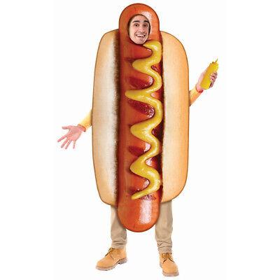 Adult Dog Costumes (Adult Sublimation Hot Dog)