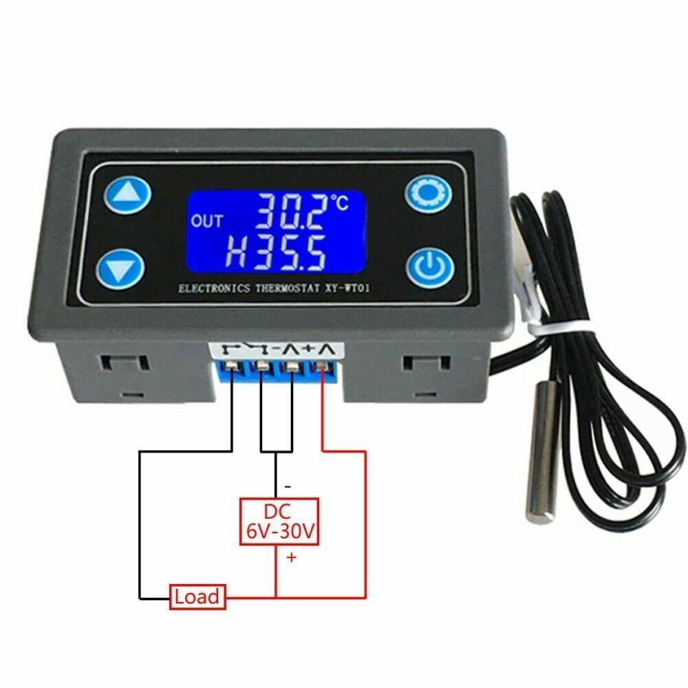 Thermostat Temperature Sensor LCD Digital Display NTC 10K B3