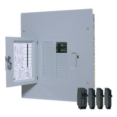 Ge Tm1210ccubk1 12-space 22-circuit Main Breaker Indoor Load Center -100 Amp