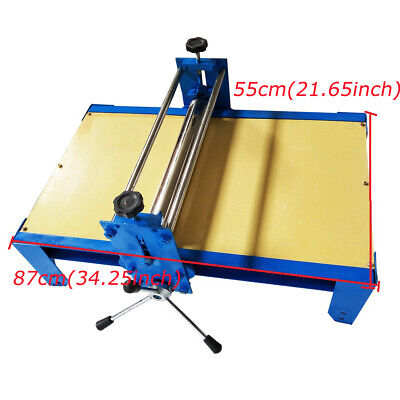 Manual Ceramic Clay Plate Machine Slab Roller For Wood Engraving Hemp Offset Pap