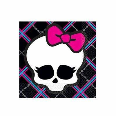 Monster High Party Supplies Beverage Napkins 16Count
