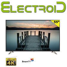 "TV 55"" POLLICI SMART LED THOMSON 55UB6406 4K ULTRA HD A+ DVB T2 S2 QUADCORE WIFI"