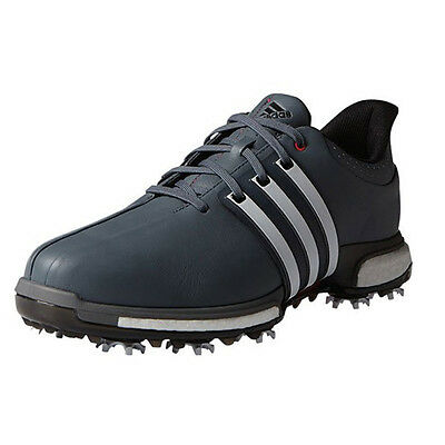 Изображение товара NEW Adidas Mens Tour 360 Boost Golf Shoes Onix / White / Red - Choose Size!