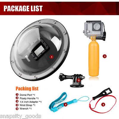 Shoot 6'' Dome Port Underwater Diving Camera Cover Lens for Gopro Hero 3+ 4