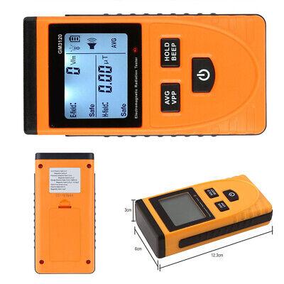 LCD Digital Electromagnetic Radiation Detector Dosimeter Tester Meter Counter