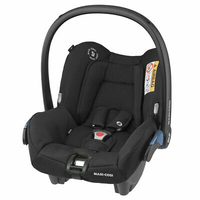 Maxi-Cosi Citi SPS baby car seat Grp0 in Ess Black RRP£150 - 2 Year Warranty!