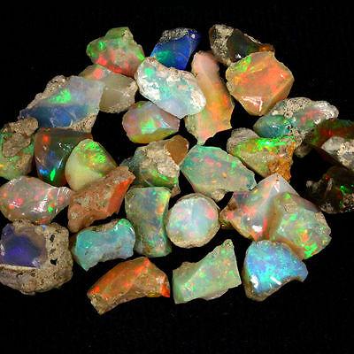 2+ ct Beautiful Natural Ethiopian Welo Rough Opal