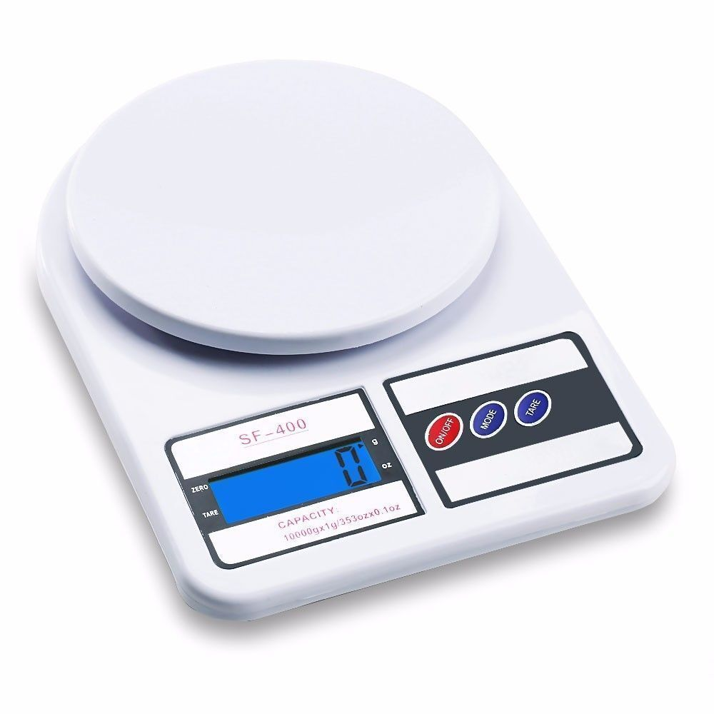 10kg/1gPRO Digital Electronic Kitchen Food Scale weight battery included 2xAA