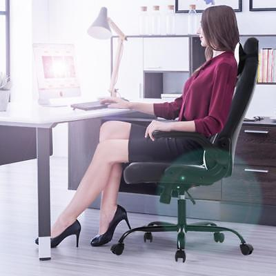 Gaming Office Chair, High-Back PU Leather Racing Chair, Reclining Computer Chair Business & Industrial