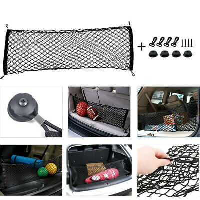 Accessories Car Envelope Style Trunk Cargo Net for Ford F-150 Expedition Auto ()