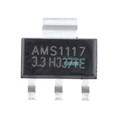 50pcs Ams1117 Lm1117 1a 5v Sot-223 Voltage Regulator