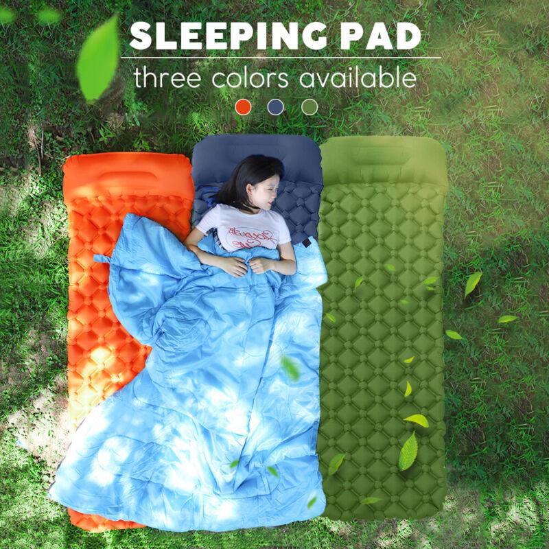 Ultralight Sleeping Pad Self-Inflatable Camping Mat Foldable Camping Foam Pads