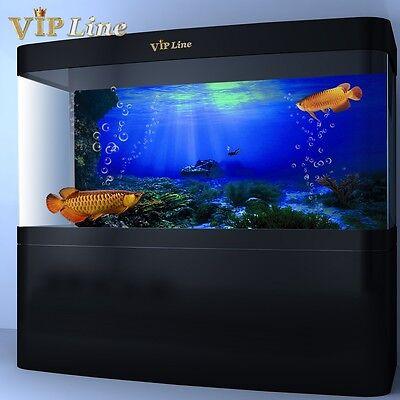 Fishing Decorations (Seabed Wreck PVC Aquarium Background Poster Fish Tank Decorations)