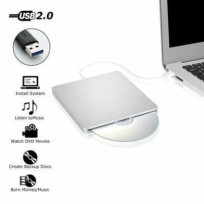 USB External Slot DVD CD RW Drive Burner Super drive Apple Macbook Pro Air iMAC