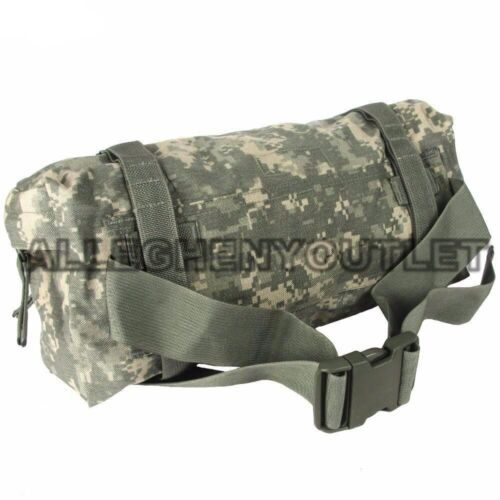 NEW Genuine US Military MOLLE Waist Pack Army ACU Hip Butt / Fanny Pouch