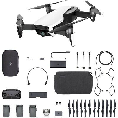 DJI Mavic Air Fly More Combo Quadcopter - Foldable, Pocket-Portable Drone