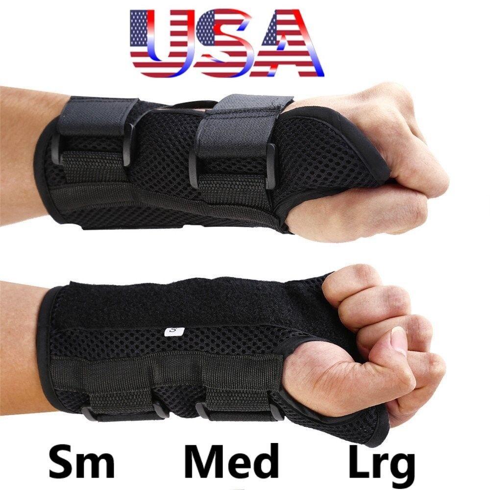 Wrist Hand Brace Carpal Tunnel Support Splint Arthritis Spra