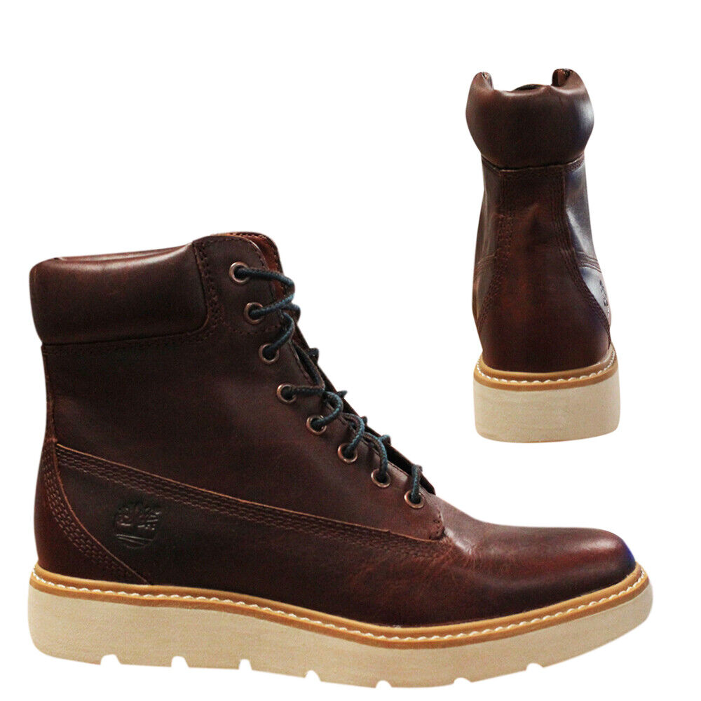 Details Womens A18ke Up Inch Lace Boots Kenniston About Timberland 6 Brown B106c Leather FcTlK13J