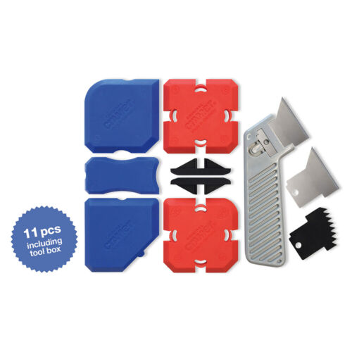 Cramer 7 PC Profiling Grout Caulking Tool Kit with Silicone Grout Remover