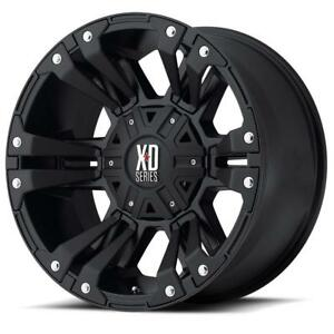 20x10 5x127  24 Offset XD Monster 2 Jeep (4 New Rims $1950 Tax In
