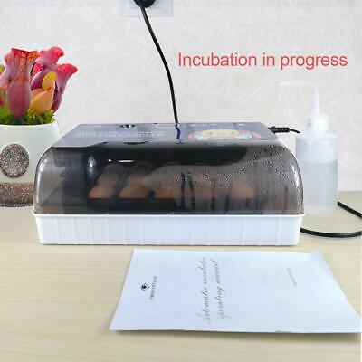 Egg Incubator With Automatic Egg Turning Turner For Ducks Goose Quail Chicken...