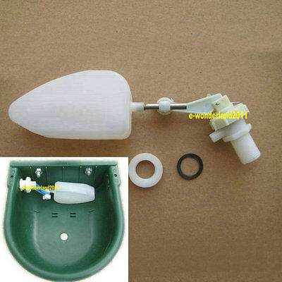 12float Mount Valve For Automatic Water Trough Sheep Dog Chicken Bowl