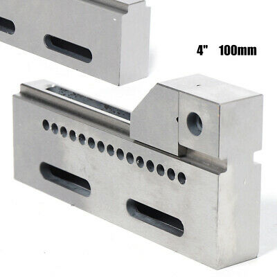 Cnc Wire Edm Vise 4 Opening Stainless Steel Hardened Fixture Precision Jig