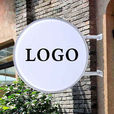 20 Double Sided Round Outdoor Indoor Light Box - Led Sign For Advertising