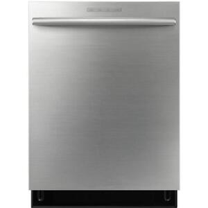 """SamsungDW80F800UWS    24"""" Tall Tub Built-in Dishwasher Stainless Steel Tub - Stainless Steel"""