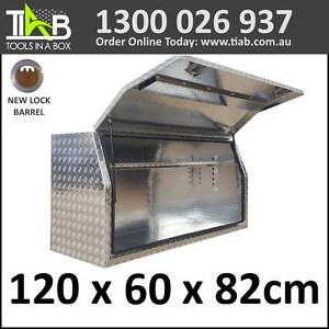 Aluminium Side Full Opening Toolbox Truck Ute Trailer Box 1268FD Melbourne CBD Melbourne City Preview