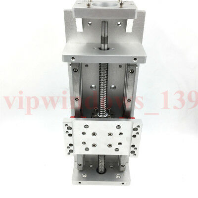 L800mm Cross Sliding Table Linear Module Sfu1605 20040kg Cnc Milling Xyz Axis