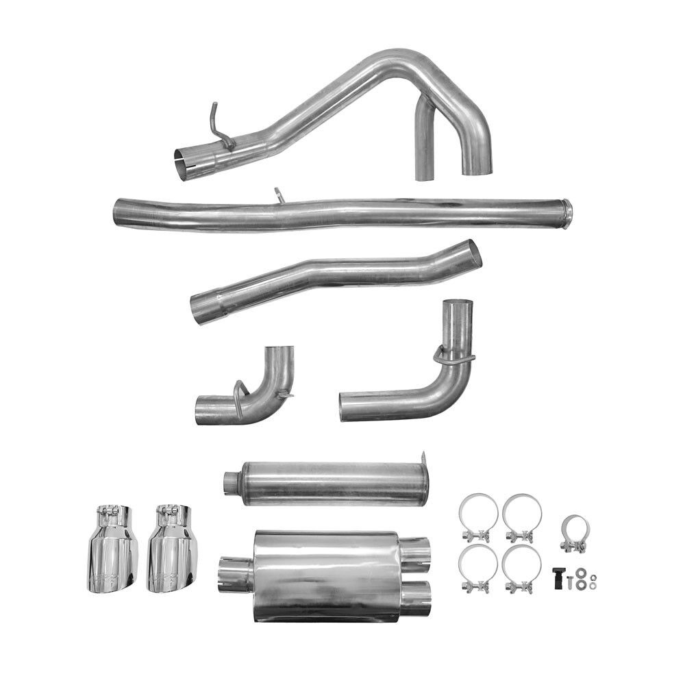 MBRP Catback For Focus RS Ford 2016 2017 2018 Aluminized