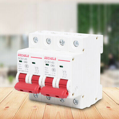 400v Dual Power Manual Transfer Switch For Generator Changeover Switch 2p 63a Us