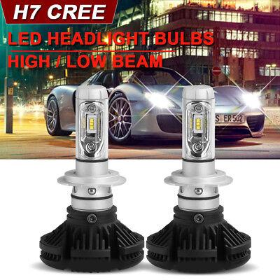 CREE H7 LED Headlight Conversion Kit Car Beam 1000W 150000LM 6000K White - Used Mercedes E320