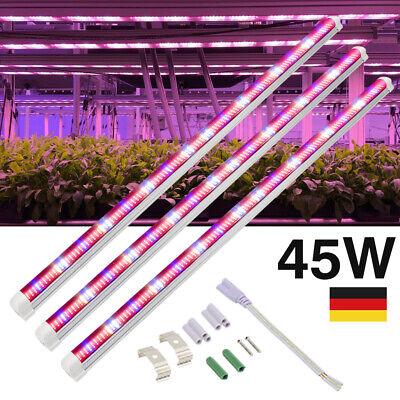 45W LED Wachsen Licht T8 Röhre Beidseitig 448 LEDs Vollspektrum IP65 Wasserdicht (T8 Led Wachsen)