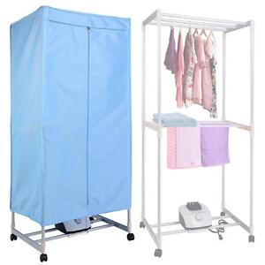 Portable Electric Clothing Dryer 1000W Heater Folding Wardrobe Drying Rack Home - FREE SHIPPING