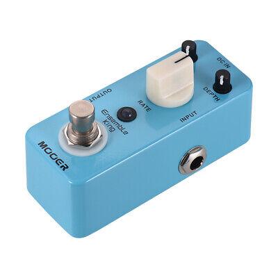 Mooer Pure Analog Chorus Electric Guitar Bass Effect Pedal True Bypass 1/4″ Jack