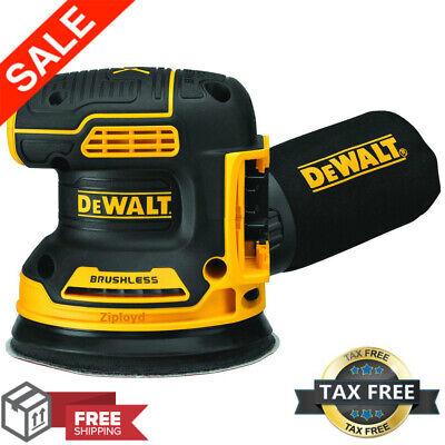 Dewalt Dcw210b 20v Max Brushless Orbital Sander (Tool Only)