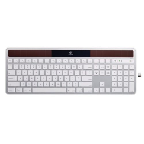 Logitech K750 Wireless Solar Keyboard - Solar Recharging, Mac-Friendly Keyboard
