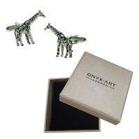 Da Uomo Giraffa Animale Selvatico Zoo Gemelli & Scatola Regalo Da Ony Art -  - ebay.it