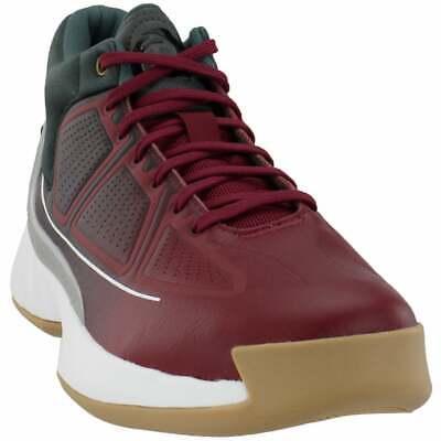 adidas D Rose 10  Casual Basketball  Shoes - Burgundy - Mens
