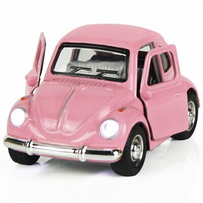 Move Vehicle - Retro Beetle Diecast Car Flash Move Die Cast Vehicle Toy Baby Kid Boy Xmas Gift