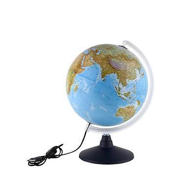 Idena 569902 - Leuchtglobus 30 cm mit Halogen Globus, Weltkarte Leuchte NEU