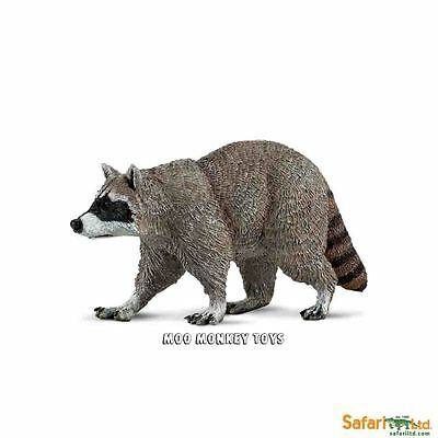 RACCOON  Safari Ltd # 223029 Woodland Forest Animal  Replica NWT